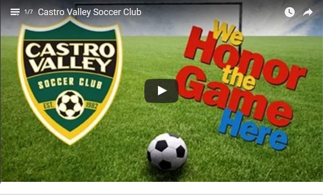 Castro Valley Soccer Club Video